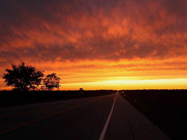 Cool 3d Wallpapers Nature Sunset On Route 66 On Us Route 66 Somewhere Near Cardin