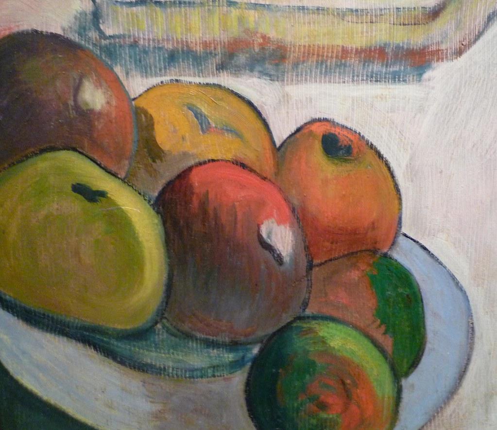 Paul Gauguin Portrait of Jacob Meyer de Haan fruit  Flickr
