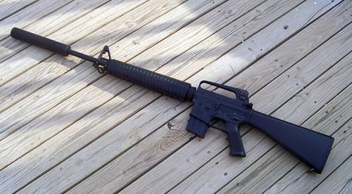 M16A2 Suppressed  This is how I keep my M16A2 when I dont   Flickr