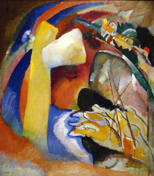 Painting with White Form Kandinsky