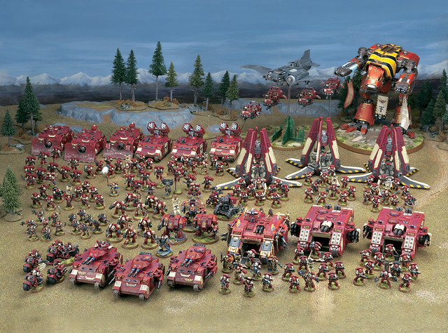 Blood Raven Army This Image Is Of Games Workshop Staff