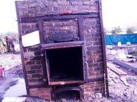 Holt Cemetery Cremation Furnace   Cremation furnace made ...