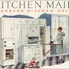 Kitchen Maid Cabinet Manufacturers Canada 1926 Cabinetry This Image Appeared In House B Flickr By American Vintage Home