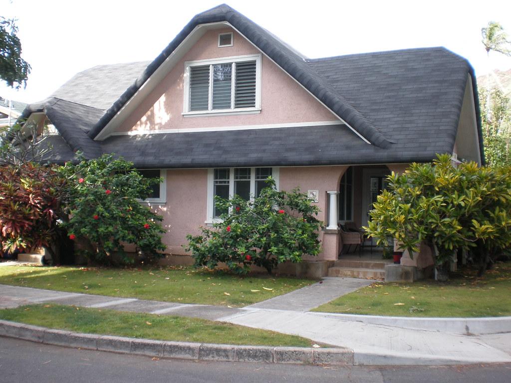Tudorrevival cottage on Kiele Avenue at Coconut Avenue