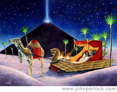 Egyptian Sleigh Ride Copyright John Perlock 2002 This