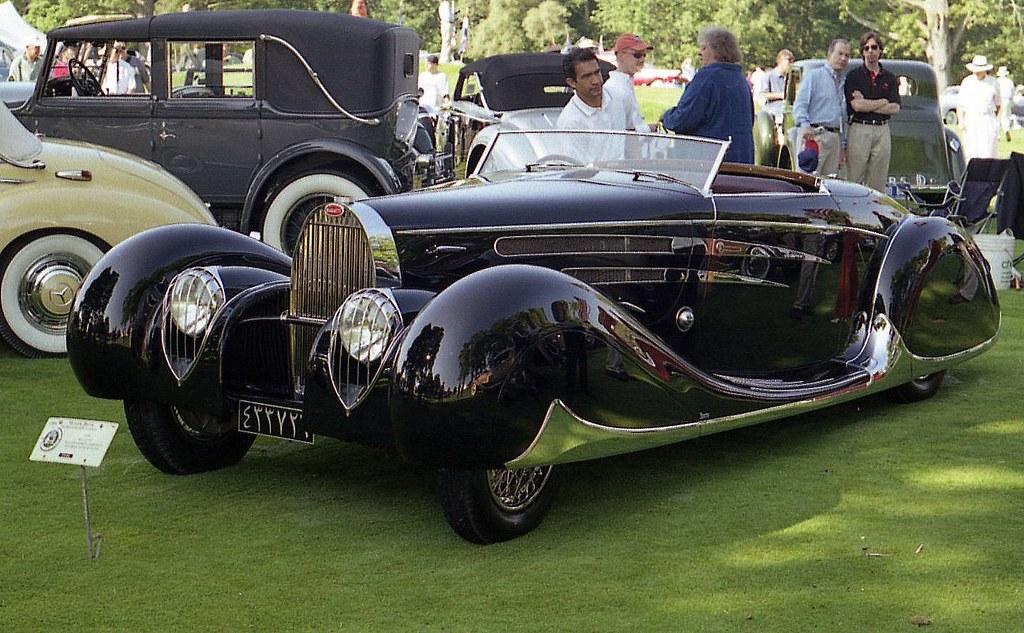 1939 Bugatti Type 57c Vanvooren Cabriolet Richard