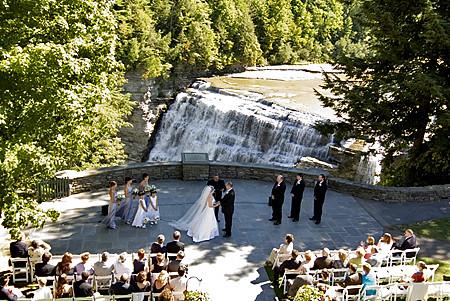 Letchworth Wedding  Letchworth State Park Wedding  Brady
