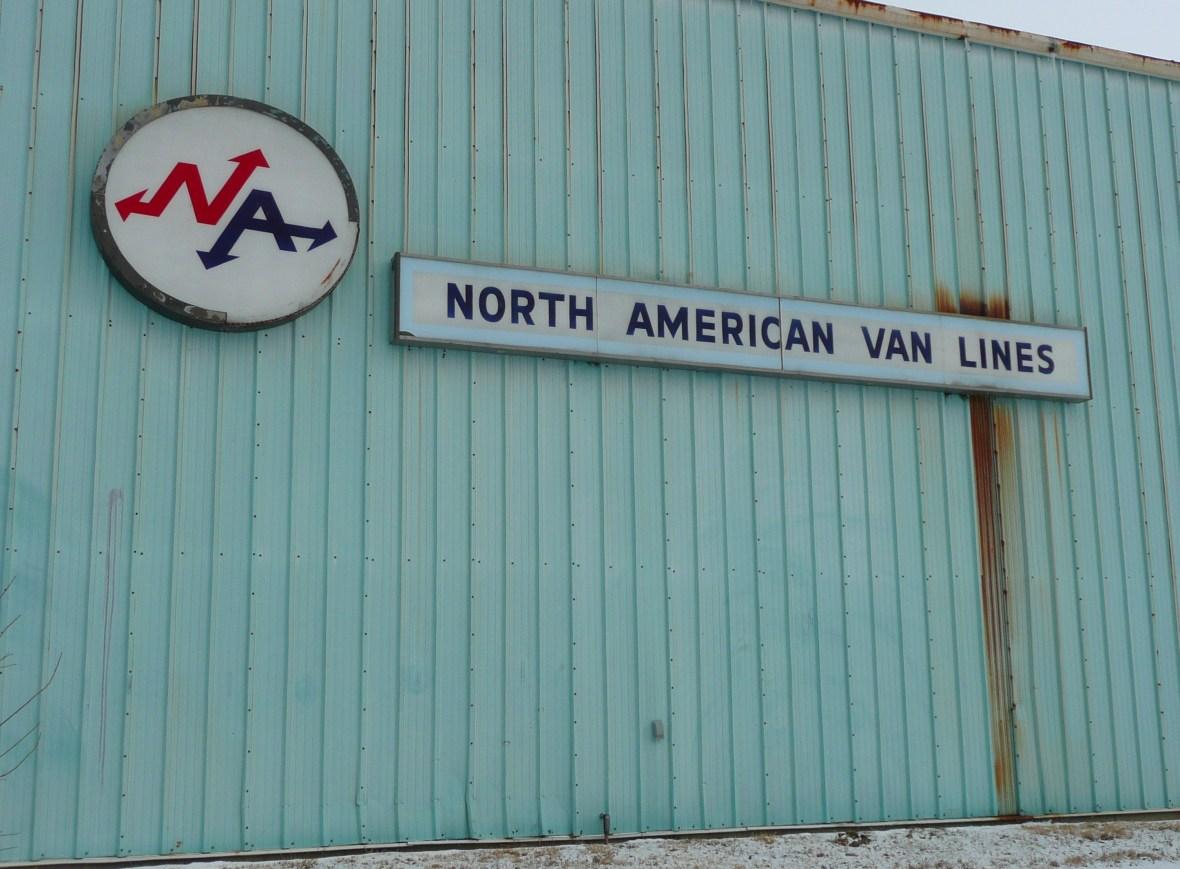North American Van Lines - Rantoul, Illinois U.S.A. - January 26, 2009