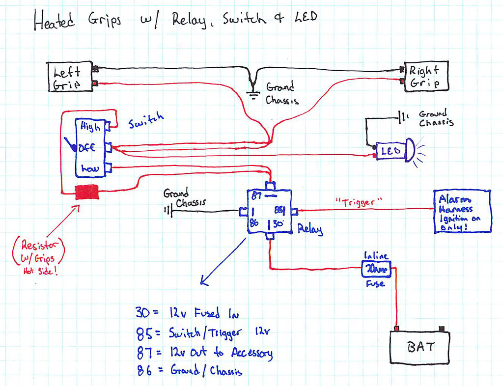 hight resolution of heated grip wire diagram