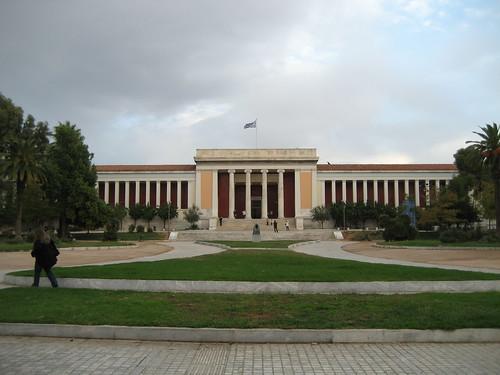 Museo Arqueológico Nacional de Atenas. ViajerosAlBlog.com.