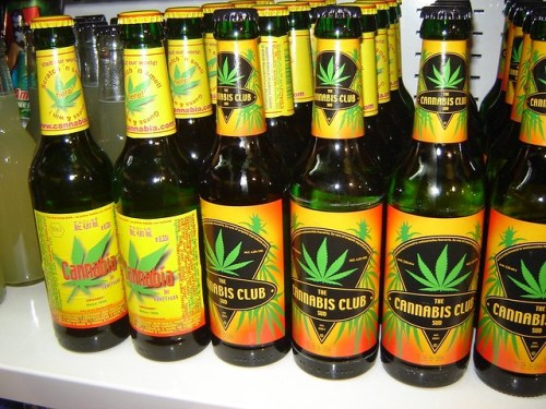 Image result for beer and weed bong