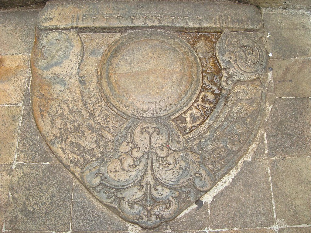 Sandakada Pahana Kandy Stone Carving At Daladamaligaw