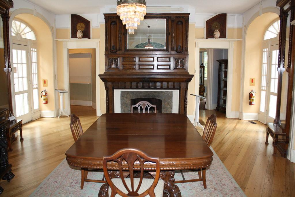 Burritt Mansion Dining Room  In Huntsville Alabama on