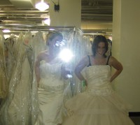 Wedding Dress FAIL (365.199) | I'm so sad that the only ...