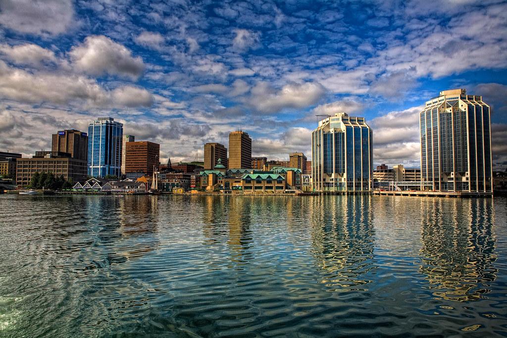 Downtown Halifax  Taken from the Dartmouth Ferry in Halifax  Flickr