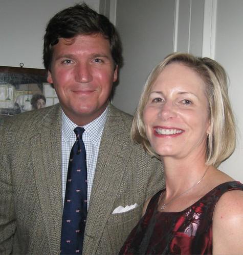 Tucker Carlson and Melinda Sidak | Frum Forum | Flickr