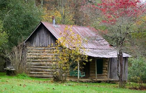 old log cabin 5166  lisawhitt  Flickr