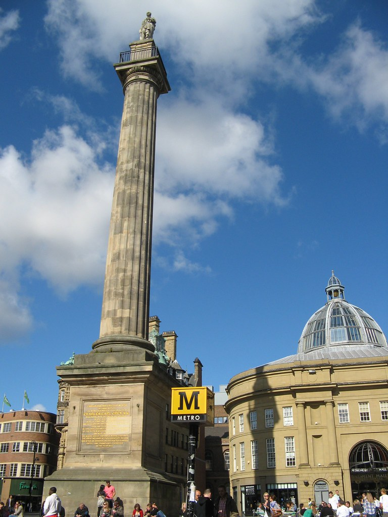Greys Monument  Monument Mall Newcastle City Centre Nor