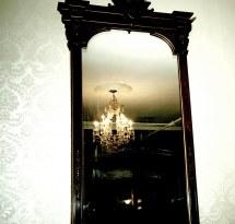 Chandalier In Haunted Menger Hotel San Antonio