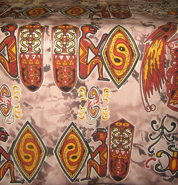 Batik papua motif orang  Harga Rp 12000000 meter