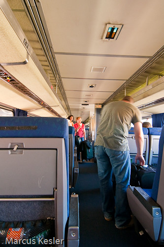 Traveling in Coach  Coach class inside the Heartland Flyer  Flickr