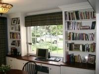 Sunroom office w/ Mahogany countertop | Curtis Terzis | Flickr