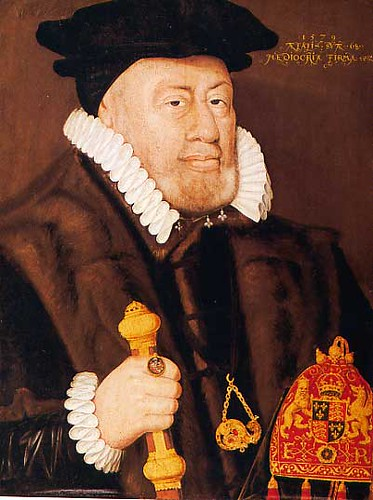 Sir Nicholas Bacon Lord Keeper of the Great Seal for Eliz