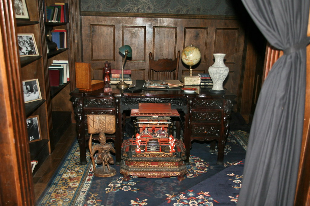 Original Ripley Office Desk c 17th century  Seated at