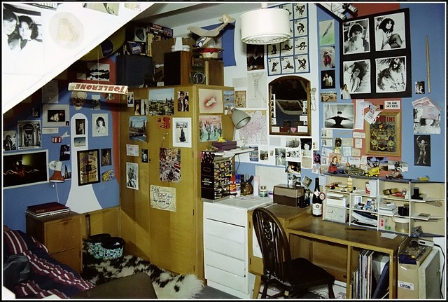My room in a London flat 1986 4  There is so much to see