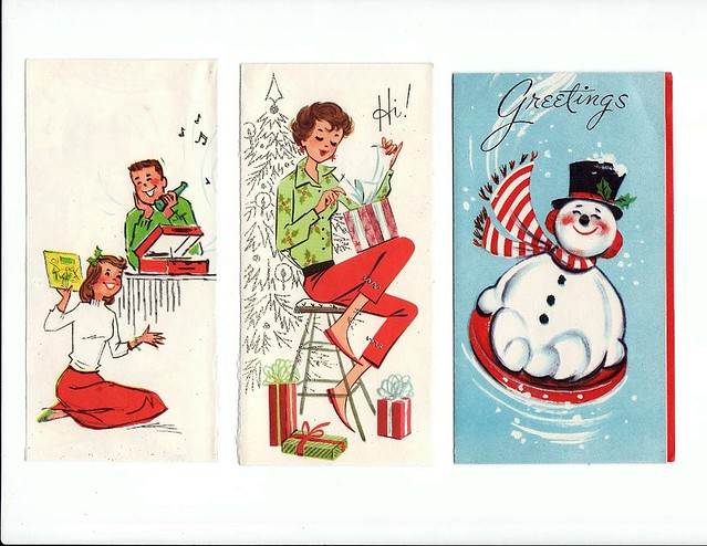 Free Vintage 50s 60s Christmas Card Covers 2 A Few