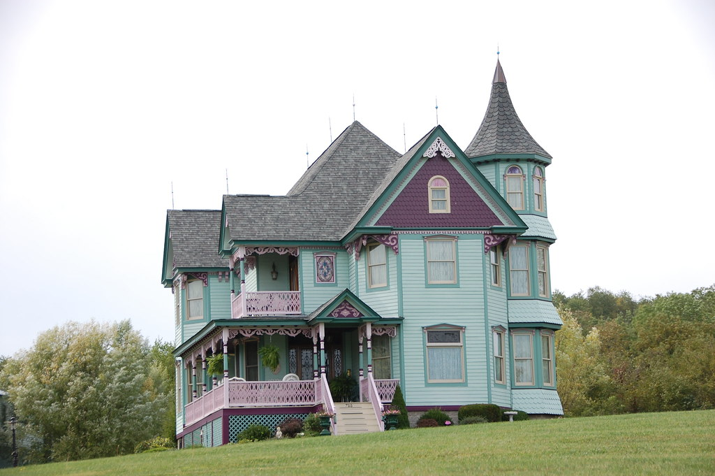 Turreted Victorian On PA 844 In West Middletown Rich