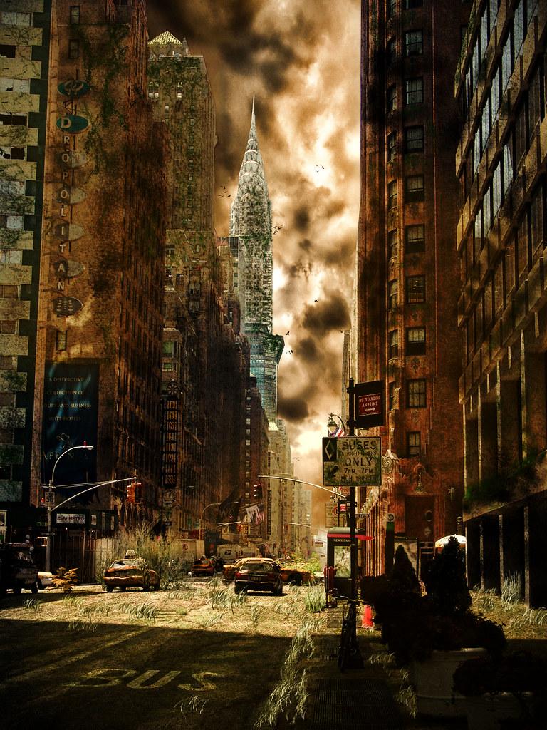 Anime World Wallpaper Ciudad Abandonada Un Nuevo Intento Afinando Para Poder