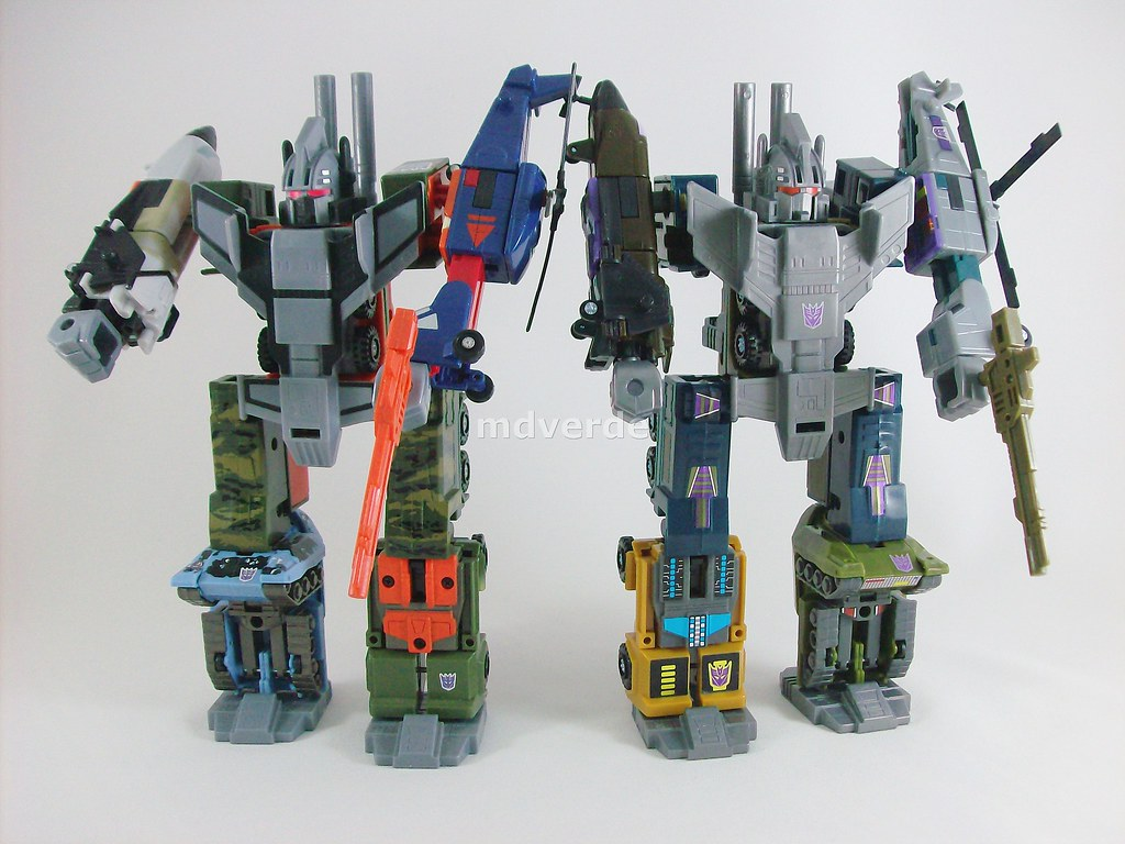 Transformers Bruticus G1 Encore vs RID Ruination  Nombre