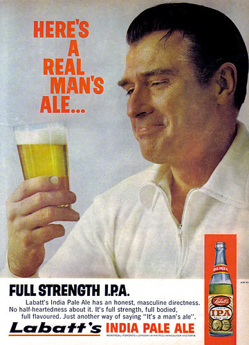Vintage Ad 934 Heres a Real Mans Ale  Flickr