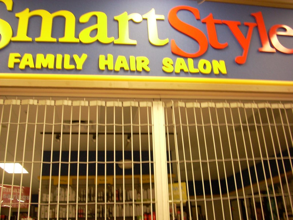SmartStyle A SmartStyle Family Hair Salon Inside A Wal