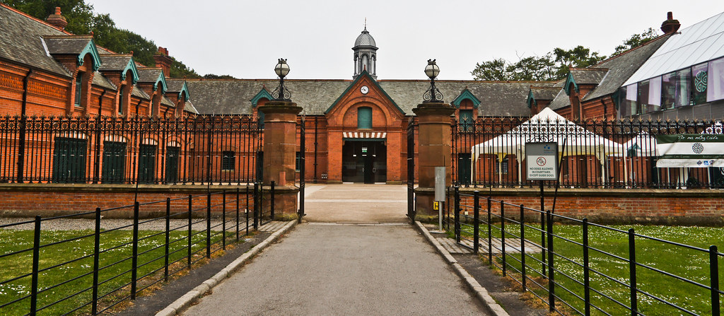 The Red Stables are located in St Annes Park  The Red Stab  Flickr