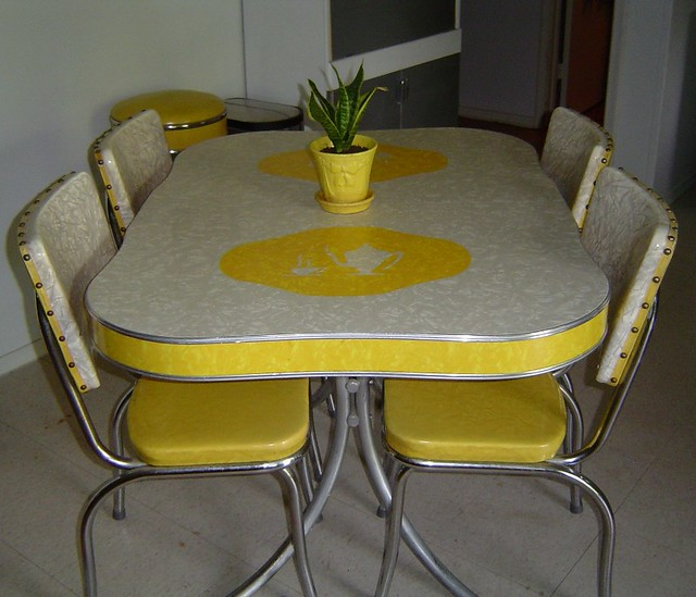 kitchen dinette set small renovation my 1950 s i ve had this for about flickr collectoratorone by
