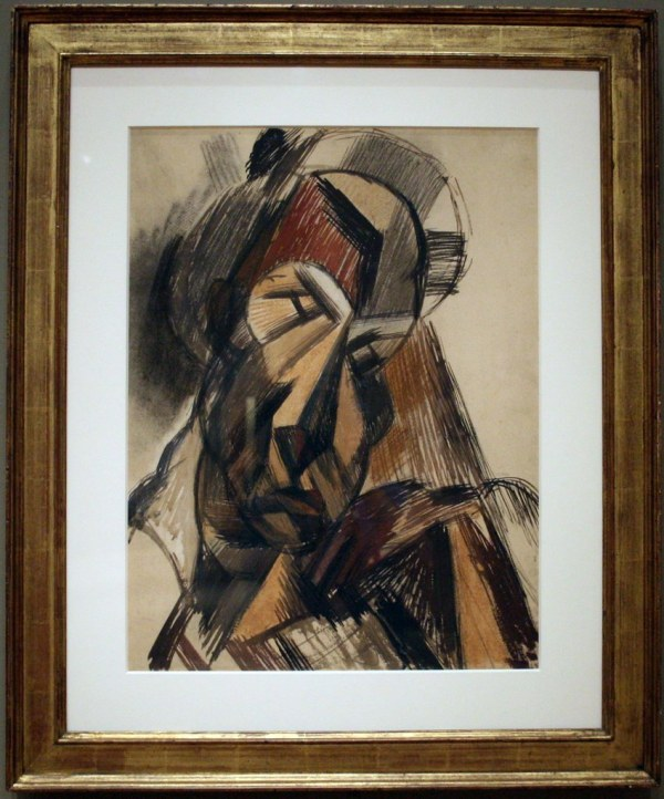 Picasso Art Institute Of Chicago Head Woman. 190