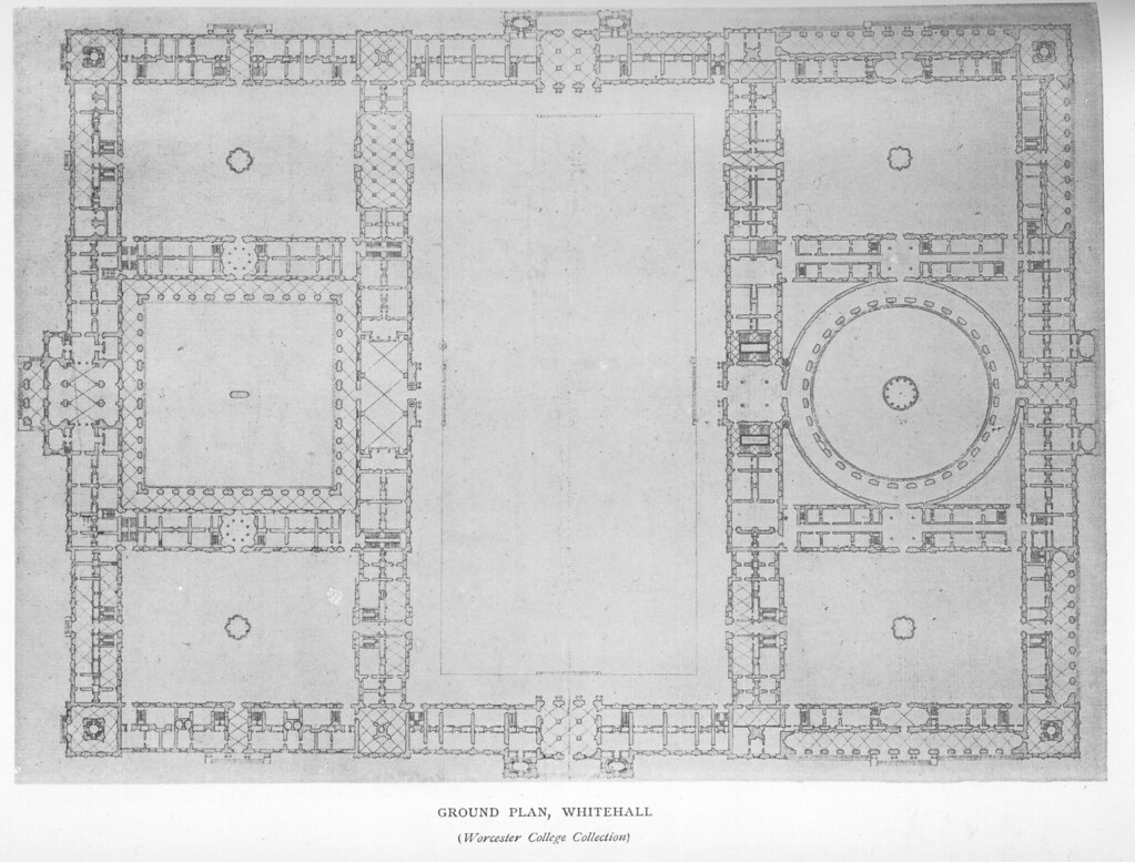 Whitehall Palace Plan of ground floor  Other title