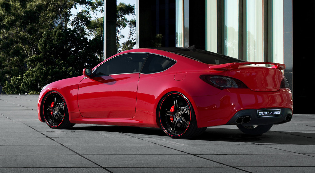 Sonata Wallpaper Car Photochoped Genesis Coupe A Quick Photochop On The New