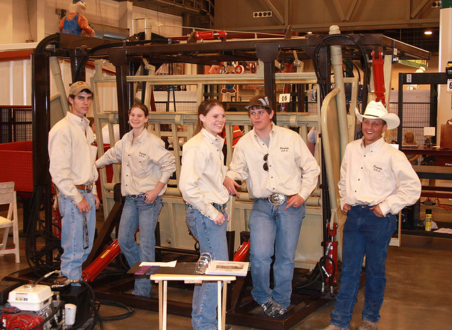 Priddy FFA Ag Mechanics Team  These Priddy Texas FFA