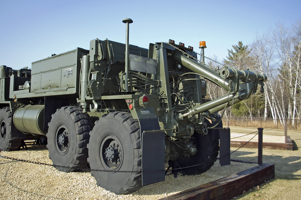 M984E1 1  The business end of a M984E1 HEMTT Wrecker