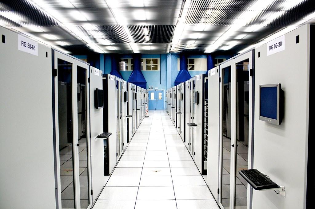 Server room at CERN  Torkild Retvedt  Flickr