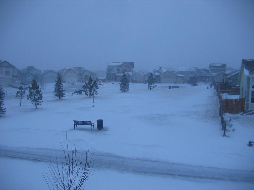 Colorado Springs 2009 March Spring Blizzard  Im very