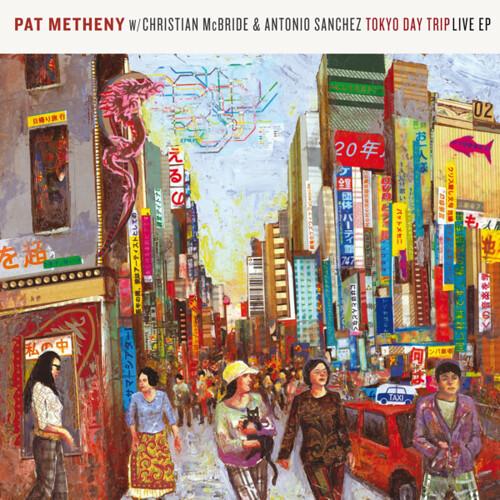 Pat Metheny Trio Tokyo Day Trip Album Art by Josh Georg  Flickr