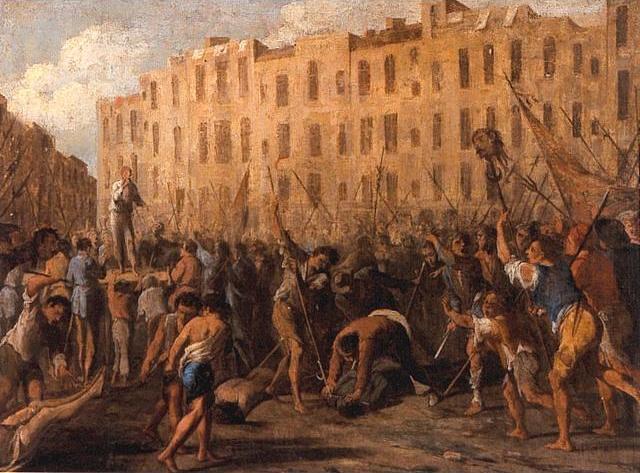 Rivoluzioni e controrivoluzioni a Napoli La rivolta di Ma