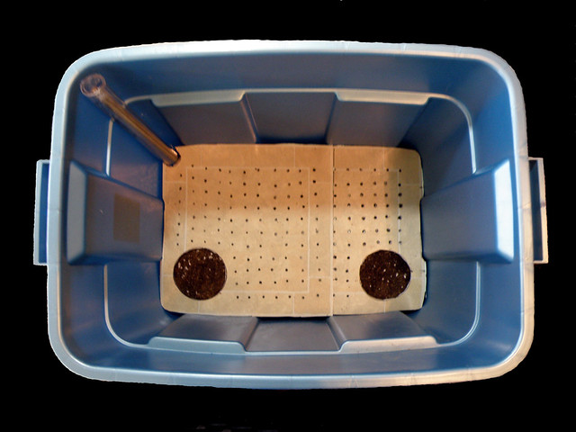OBSOLETE METHOD  Simple to Make Subirrigated Tote Box Pl