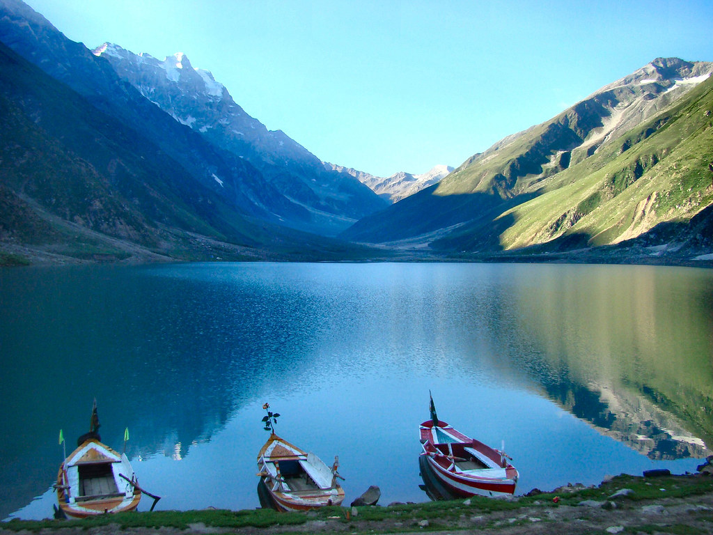 Lake Saiful Muluk  Kaghan Valley  Pakistan  Lake Saiful