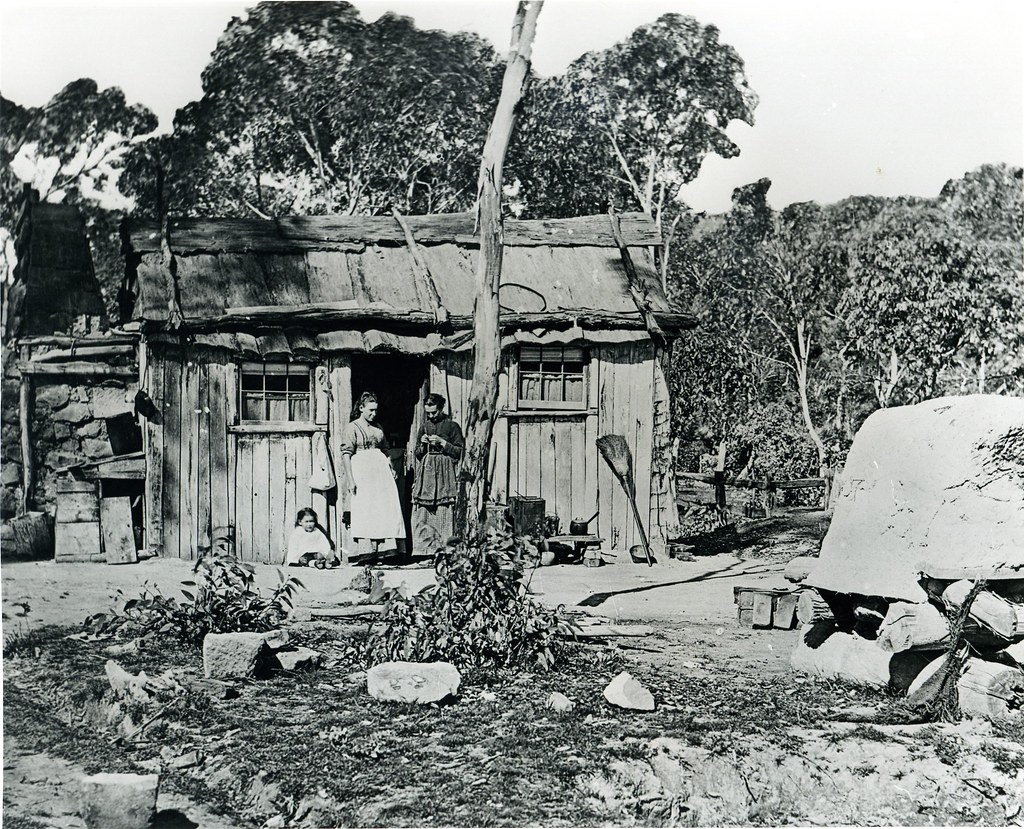 Miners Hut Lithgow Valley NSW c1880  Notes A Miners