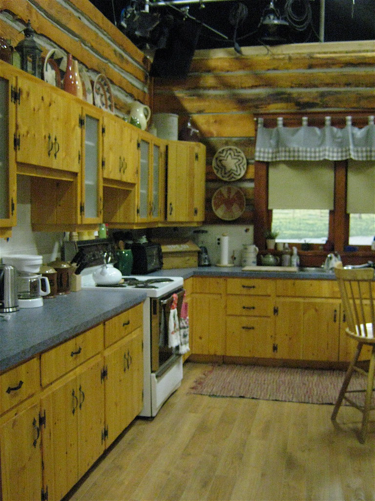 Heartland Ranch House  Ranch house set from the CBC